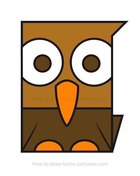 Brown Hawk Owl clipart cute cartoon WikiClipArt art clipart clip Hawk