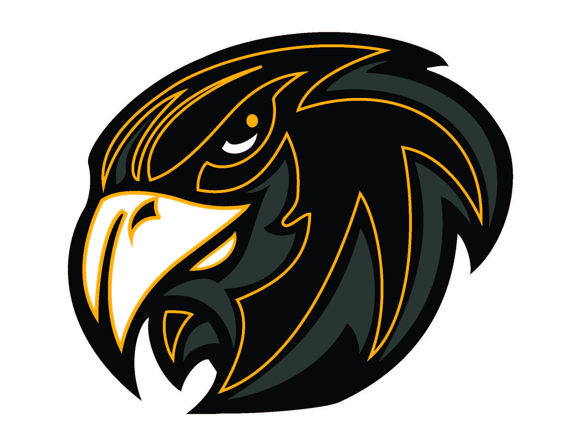 Football clipart hawk #3
