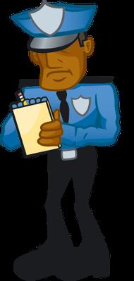 Cop clipart The Clipart Cop Writing Clipart