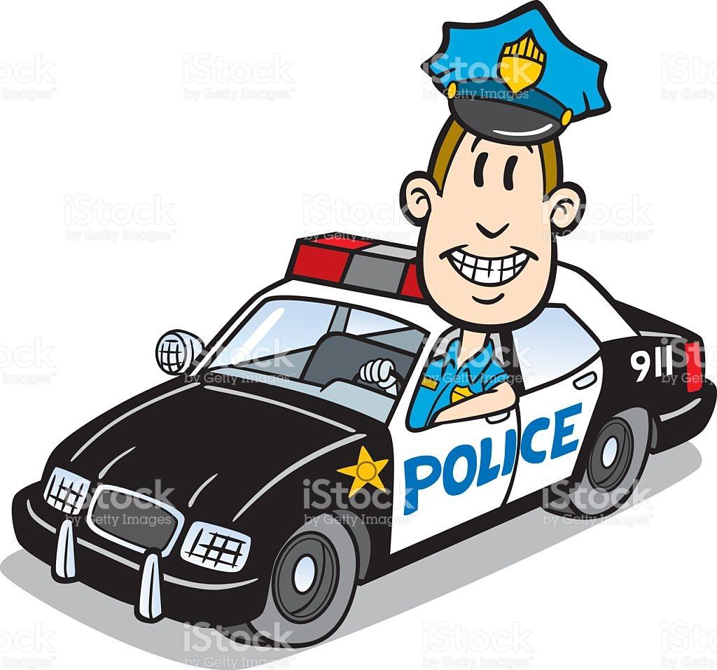 Futuristic clipart policeman #12