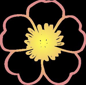 Yellow Flower clipart hibiscus flower Clip Art com Clker