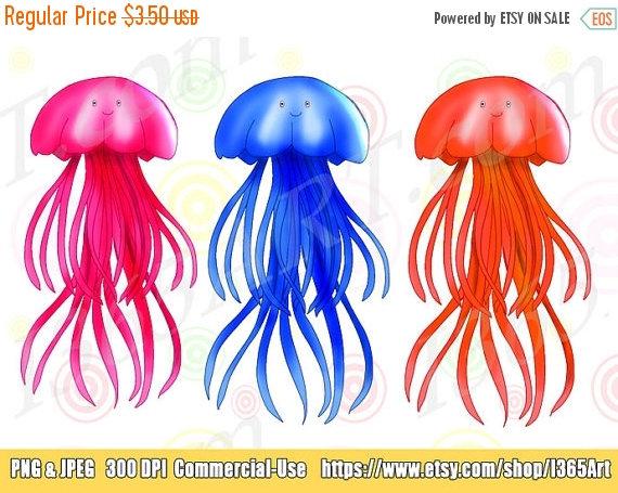 Sea Life clipart jellyfish #10