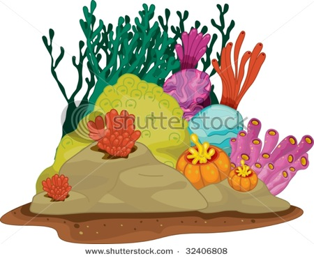 Coral Reef clipart Reef a Simple Clip clipart