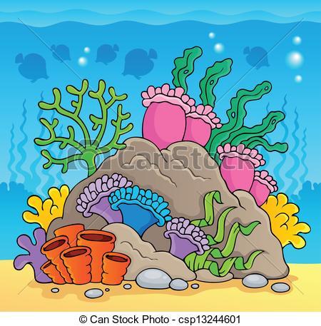 Reef clipart vector #4