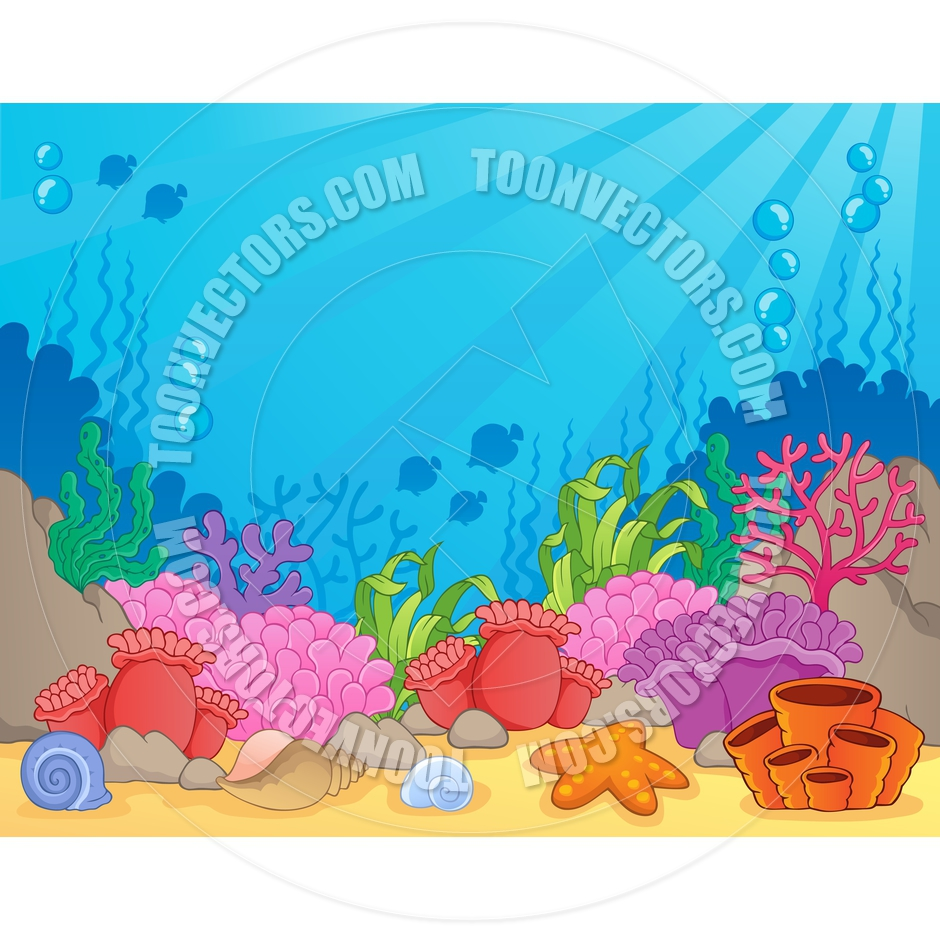 Reef clipart cartoon #15