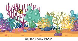 Reef clipart vector #1