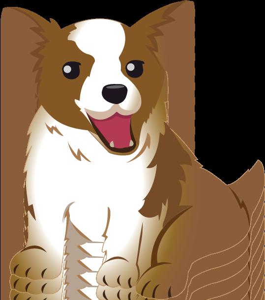 Corgi  clipart » pup Welsh Pets Free