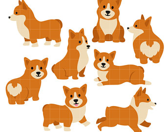 Corgi  clipart For Toppers Crafts Making clip