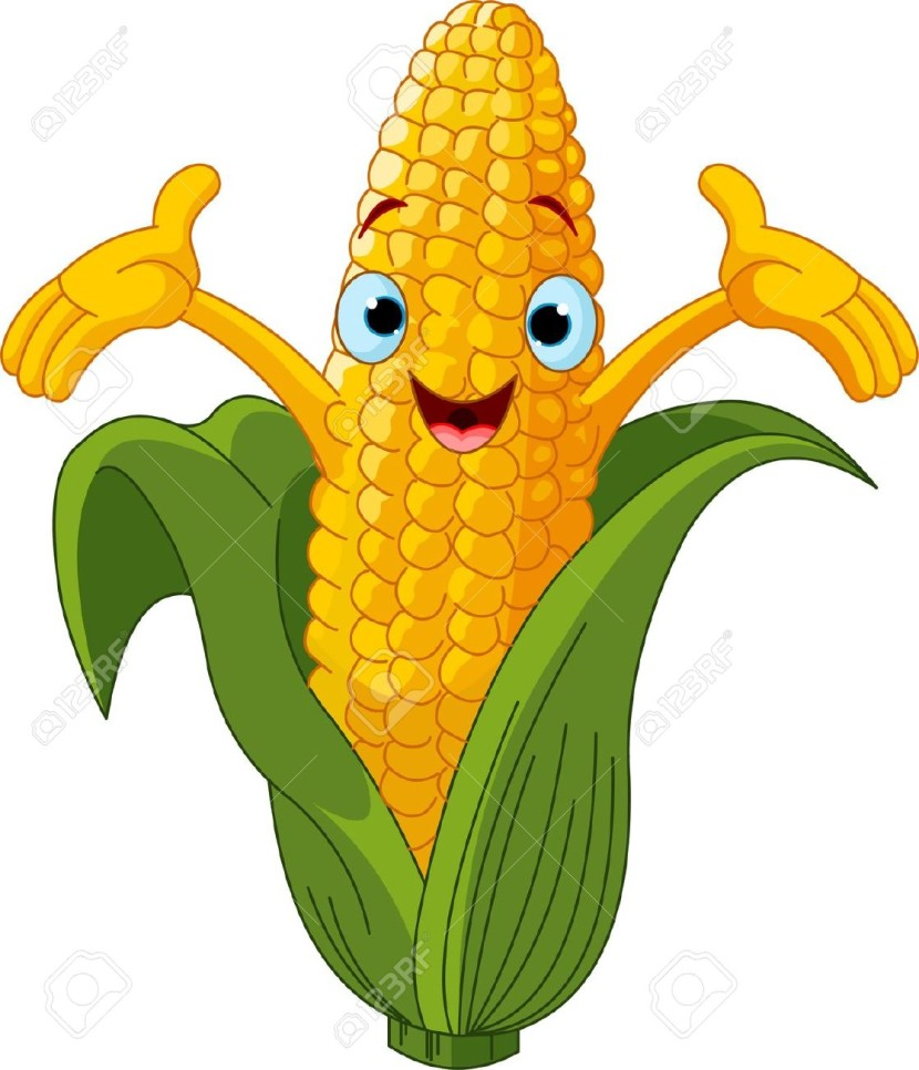 Corn clipart Com Of Character Something Clipartion