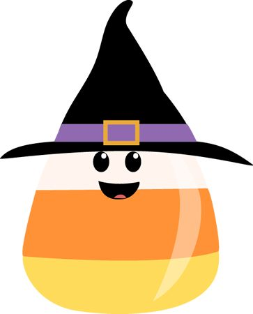 Witchcraft clipart halloween full moon Clip art 47 Corn Candy