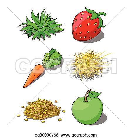 Carrot clipart corn Vector grass Animals Clipart Art