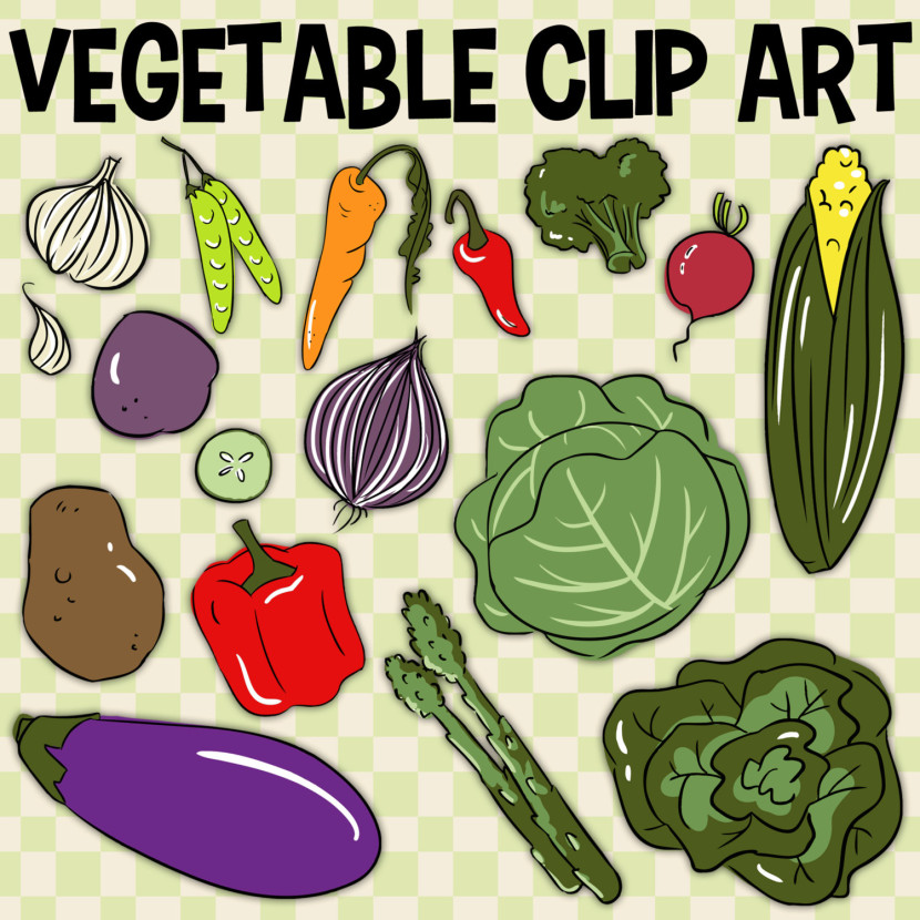 Carrot clipart food item Clipart « Etsy Vegetables Best