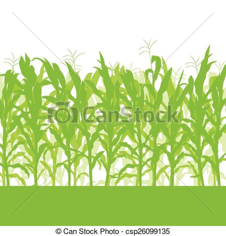 Cornfield clipart crop field Stock Clipart Corn collection field