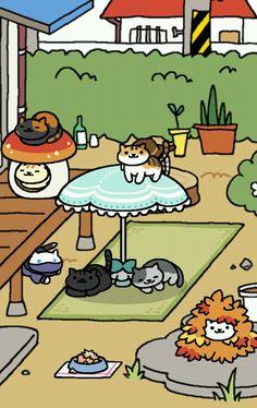Cornbird clipart Gachapon toy out cat appear