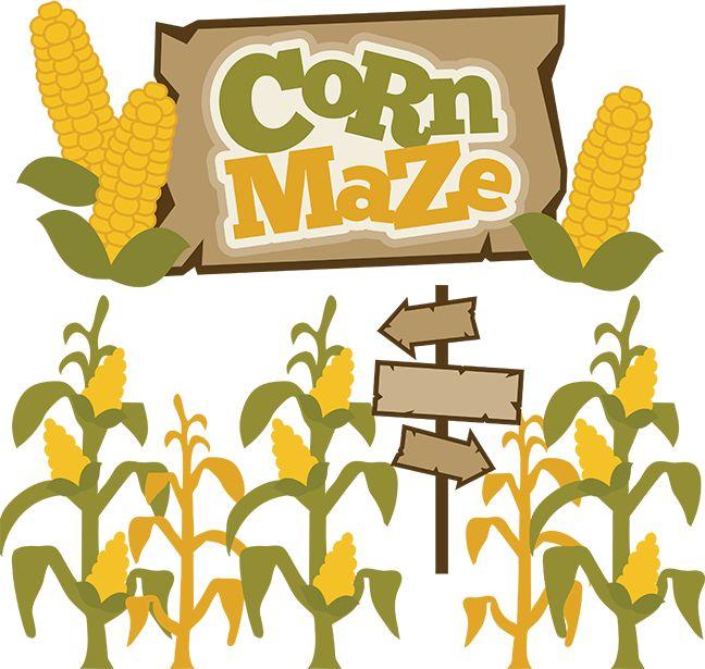 Cornfield clipart corn maze Free maze clip Maze art