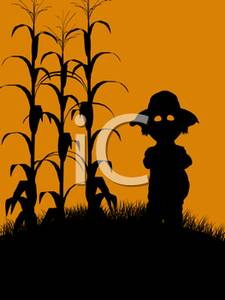 Cornfield clipart silhouette Art of Image By a