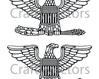 Cornol clipart army officer CraftyVectors on Colonel Etsy View