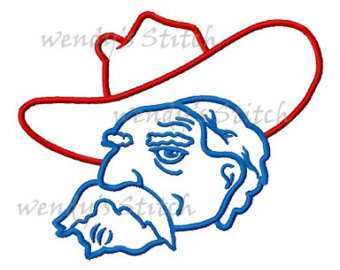 Cornol clipart ole miss Miss embroidery Ole Colonel embroidery