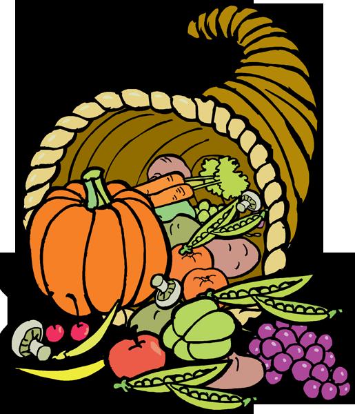 Cornucopia clipart thanksgiving food Clip Panda Clipart Art Clip