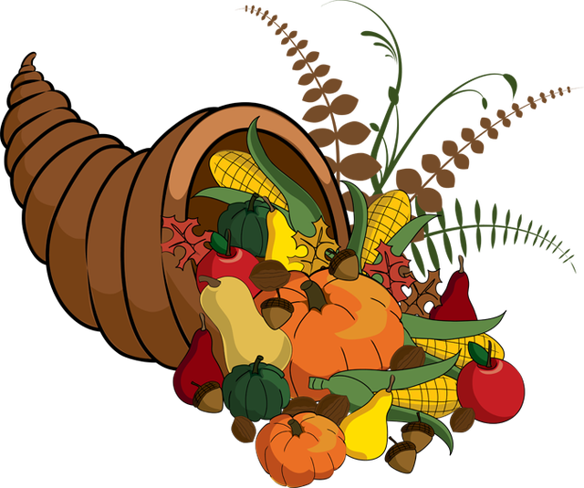 Cornucopia clipart lot food The Cornucopia Free Clipart Cliparts