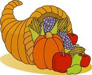 Cornucopia clipart cartoon Results Holidays Kb Cornucopia Size: