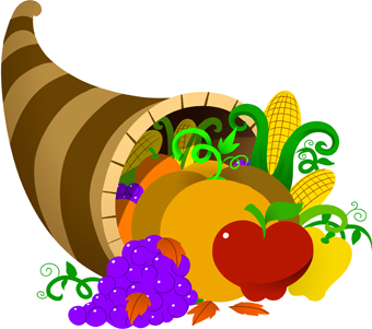 Cornucopia clipart cartoon Cornucopia Pictures clipart Free vintage