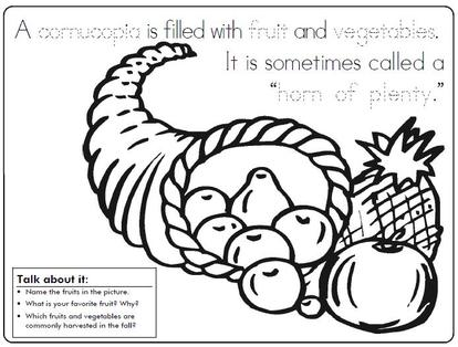 Cornucopia clipart color (clipart) cornucopia JPG jeanporter Thanksgiving