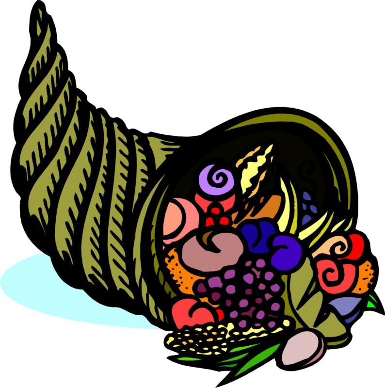 Cornucopia clipart october Free Art Dinner Download Picture