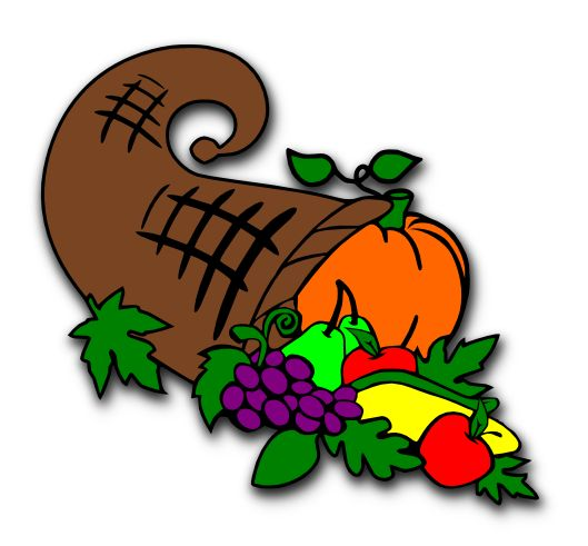 Cornucopia clipart thanksgiving 2013 Cornucopia Lady Thanksgiving com best