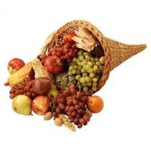 Cornucopia clipart thanksgiving blessing Thanksgiving for Images Cornucopia Graphic