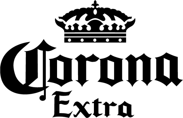 Corona Extra clipart For download free vector extra
