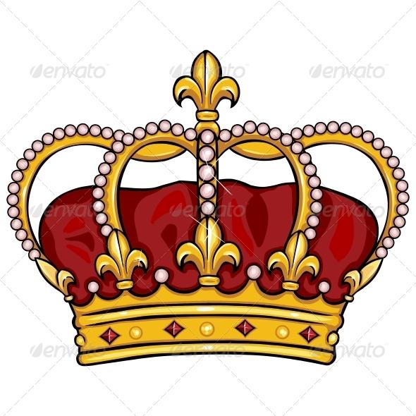 Drawn crown cartoon #13