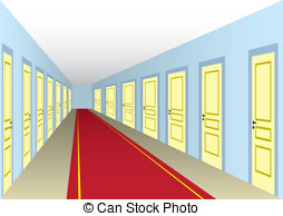 Corridor clipart house hallway Corridor with and 254 with