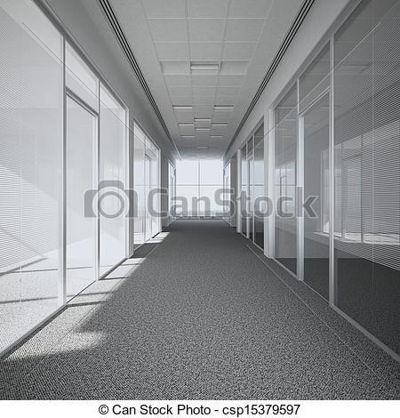 Corridore clipart 3d 302  Art office