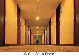 Corridore clipart hotel Corridor art Illustrations corridor carpet