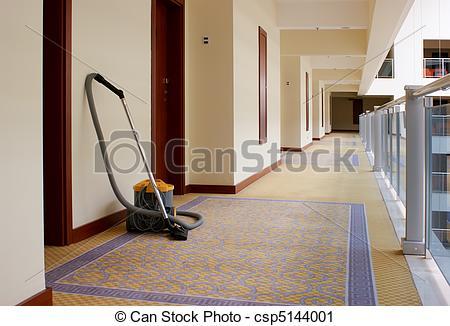 Corridore clipart hotel In  csp5144001 vacuum Photography