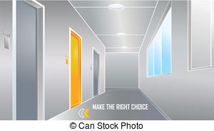 Corridore clipart hotel To Corridor Stock the at