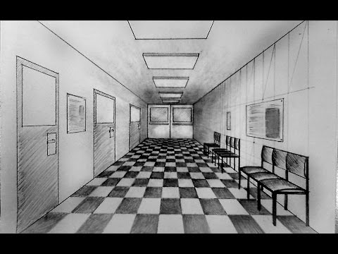 Corridor clipart perspective Corridor Zone to Cliparts how