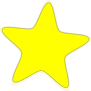 Cosmic clipart animated  Stars yellow Happy as