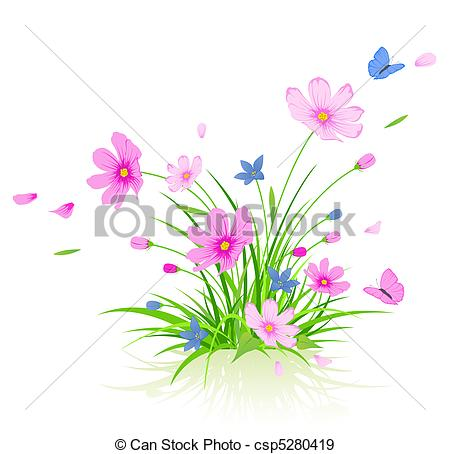 Cosmos clipart earth moon Cosmos 62 floral flowers cosmos