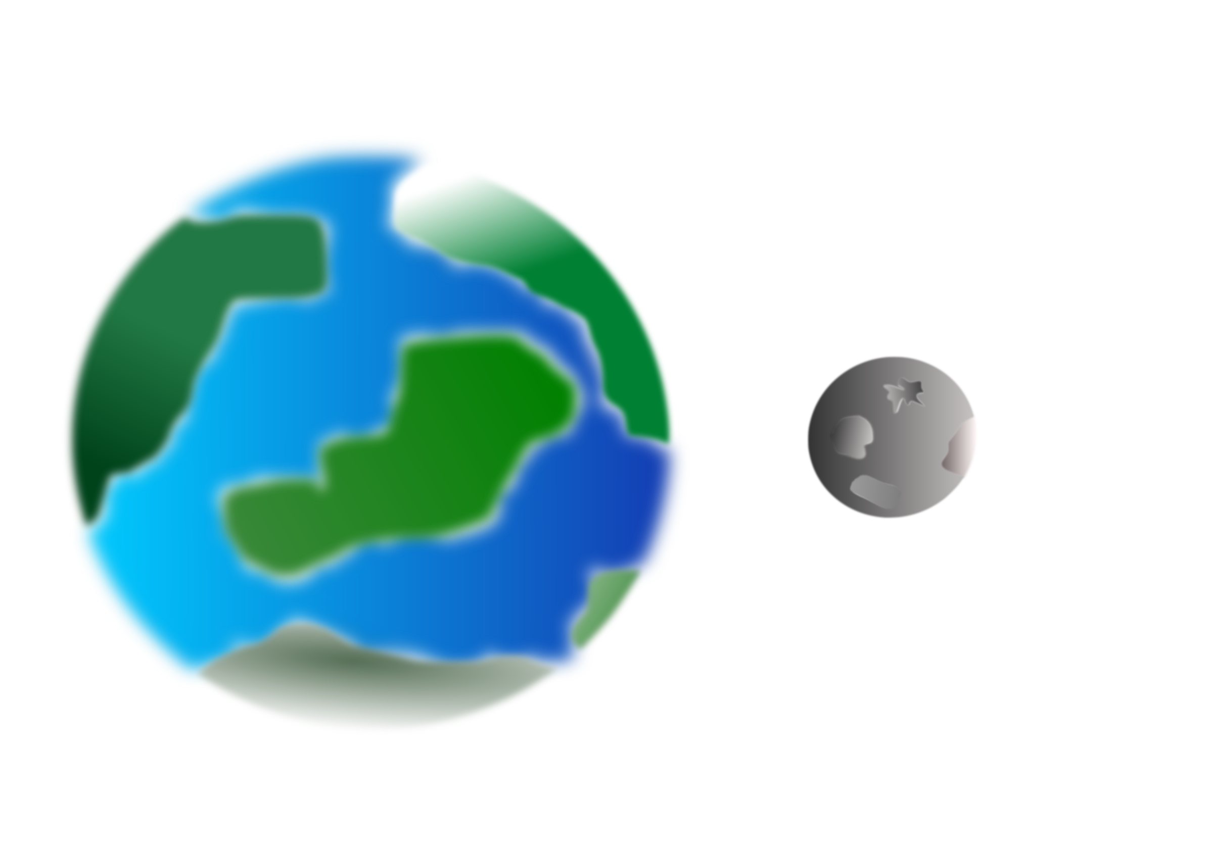 Cosmos clipart earth moon With with Planet Planet moon