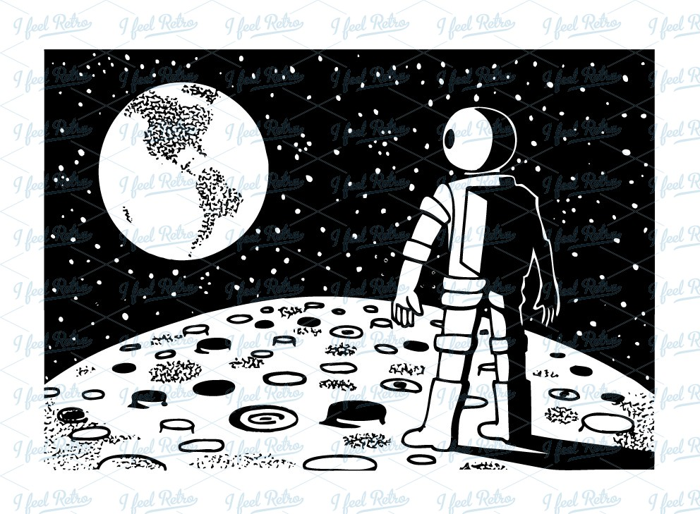 Moon clipart space #15