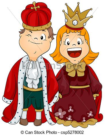 Cosplay clipart King Boy and csp5278002