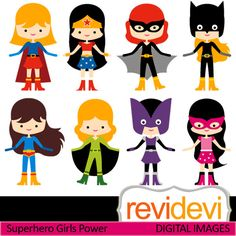 Cosplay clipart Digital Reunion clip Power and