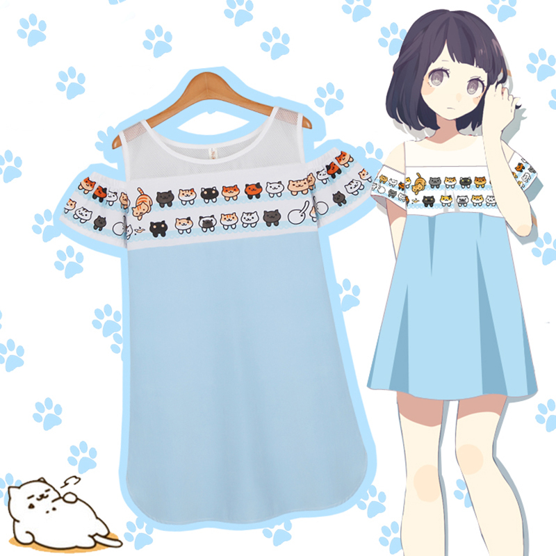 Cosplay clipart anime : Dress Sweet Cat Dress