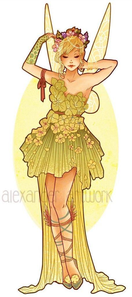 Cosplay clipart tinker Bell Alexander Art) Tinker 1