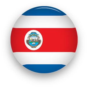 Costa Rica clipart Rican Costa button Animated Flags