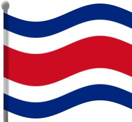 Costa Rica clipart Rica Waving Rica Download Clip