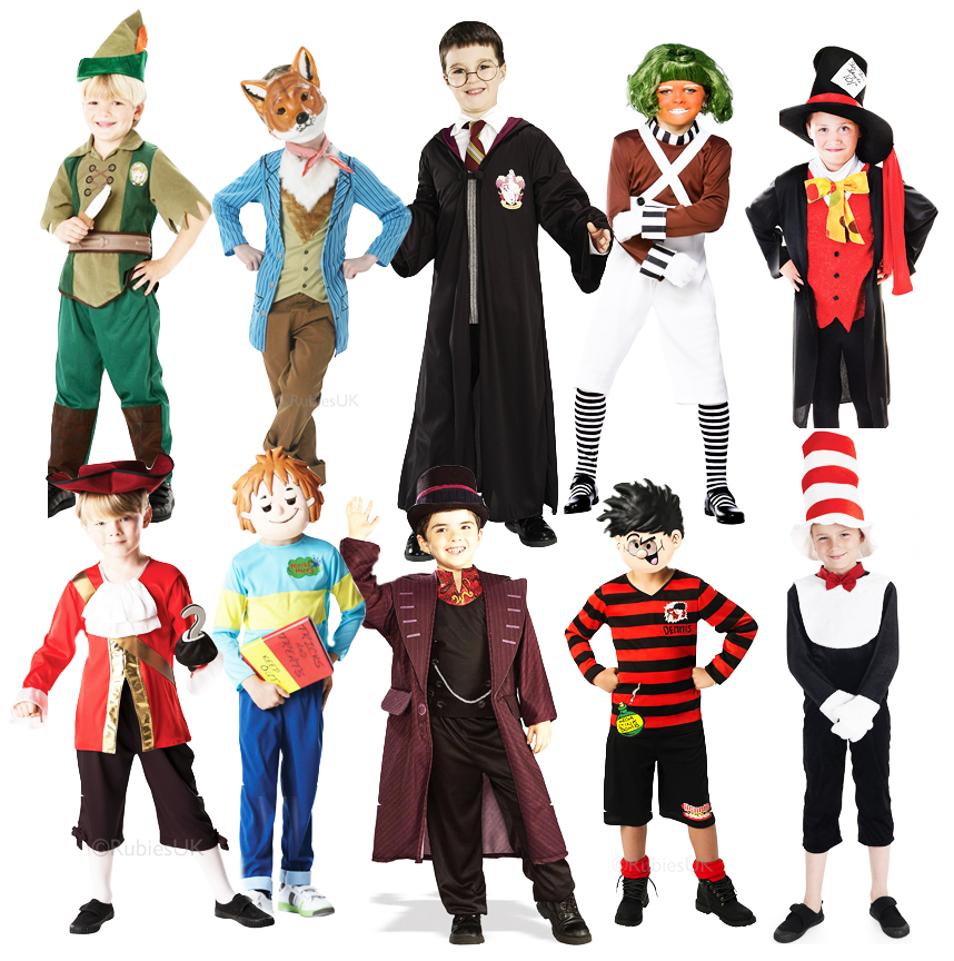 Costume clipart book character #7