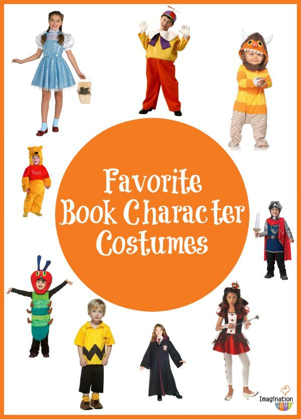Costume clipart book character #8